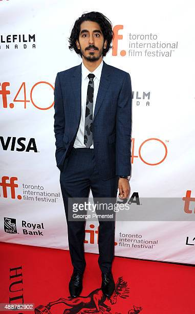 Actor Dev Patel attends 'The Man Who Knew Infinity' premiere during the 2015 Toronto International Film Festival at Roy Thomson Hall on September 17...