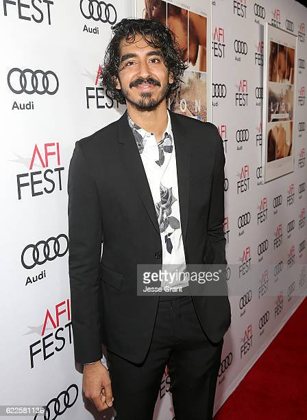 Actor Dev Patel attends the premiere of The Weinstein Company's 'Lion' at AFI Fest 2016 on November 11 2016 in Los Angeles California