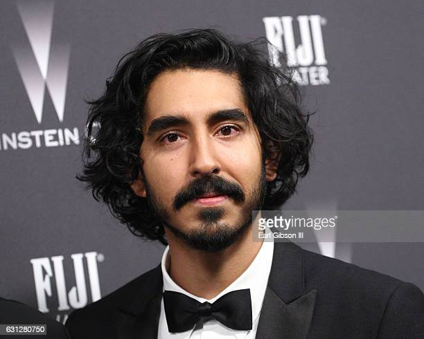 Actor Dev Patel attends The Weinstein Company and Netflix Golden Globe Party presented with FIJI Water Grey Goose Vodka Lindt Chocolate and...