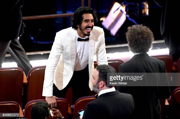 Actor Dev Patel in the audience during the 89th Annual Academy Awards at Hollywood Highland Center on February 26 2017 in Hollywood California