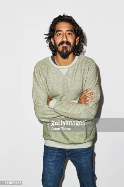 Actor Dev Patel is photographed for New York Times on March 17, 2019 in New York City.