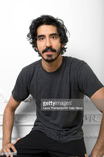 Actor Dev Patel is photographed for NY Daily News on April 15 2016 in New York City
