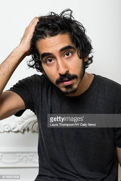 Actor Dev Patel is photographed for NY Daily News on April 15 2016 in New York City PUBLISHED IMAGE