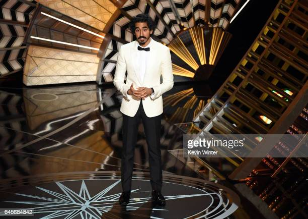 Actor Dev Patel speaks onstage during the 89th Annual Academy Awards at Hollywood & Highland Center on February 26, 2017 in Hollywood, California.