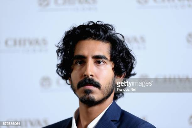 Actor Dev Patel speaks to media at Four Seasons DIFC on May 2 2017 in Dubai United Arab Emirates Actor Dev Patel is in Dubai for the Chivas Icons The...