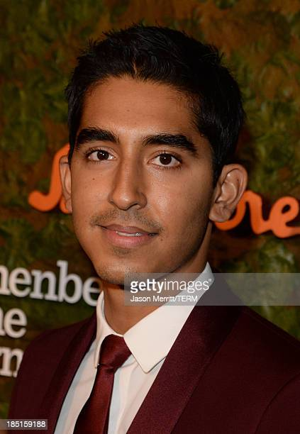 Actor Dev Patel, wearing Ferragamo, arrives at the Wallis Annenberg Center for the Performing Arts Inaugural Gala presented by Salvatore Ferragamo at...