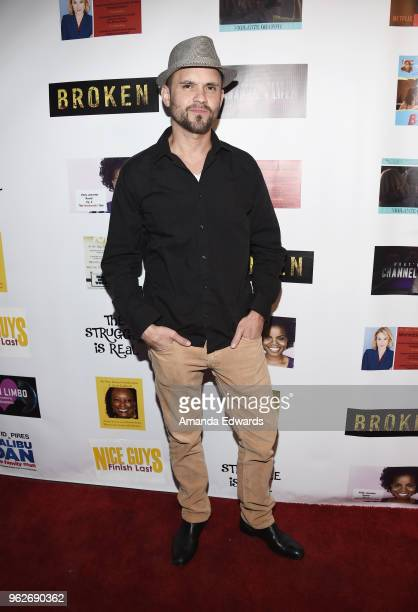 Actor Devin McGee arrives at the FYC Us Independents Screenings and Red Carpet at the Elks Lodge on May 25 2018 in Van Nuys California