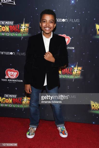 Actor Devin Trey Campbell arrives at Funimation Films' Premiere of Dragon Ball Super Broly at the TCL Chinese Theatre on December 13 2018 in...