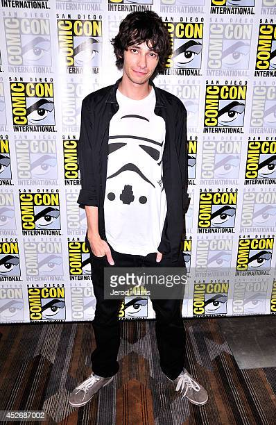 Actor Devon Bostick attends 'The 100' Press Line during ComicCon International 2014 at Hilton Bayfront on July 25 2014 in San Diego California