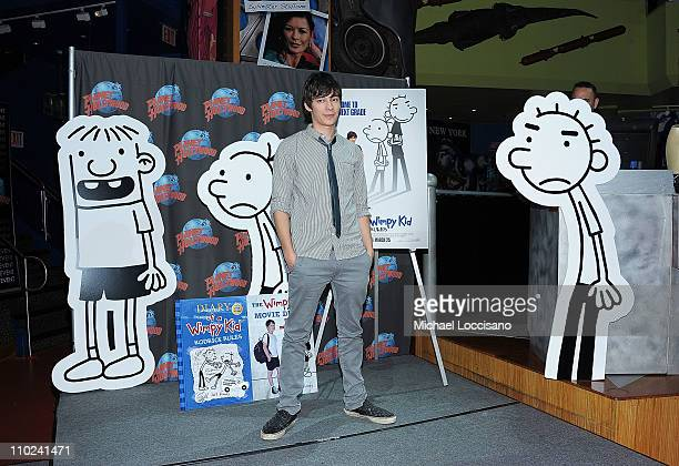 Actor Devon Bostick attends the Planet Hollywood Times Square on March 16 2011 in New York City
