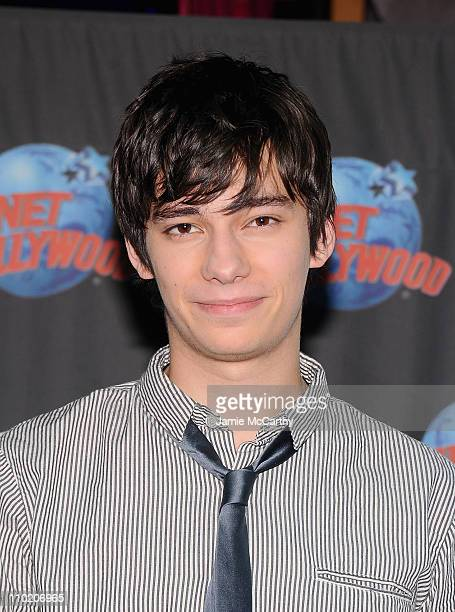 Actor Devon Bostick visits Planet Hollywood Times Square on March 16, 2011 in New York City.