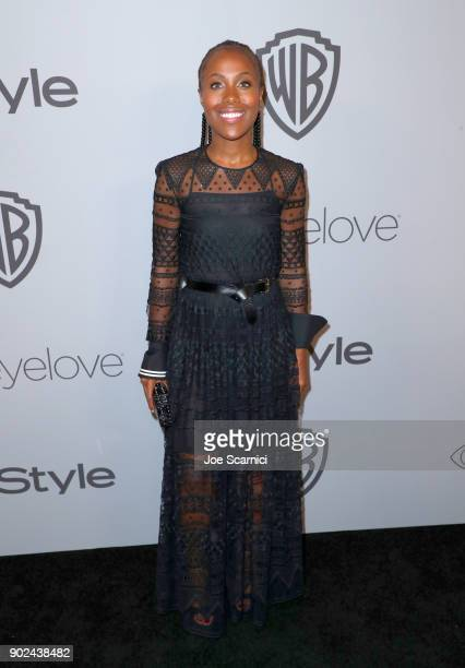 Actor DeWanda Wisettends the 2018 InStyle and Warner Bros 75th Annual Golden Globe Awards PostParty at The Beverly Hilton Hotel on January 7 2018 in...