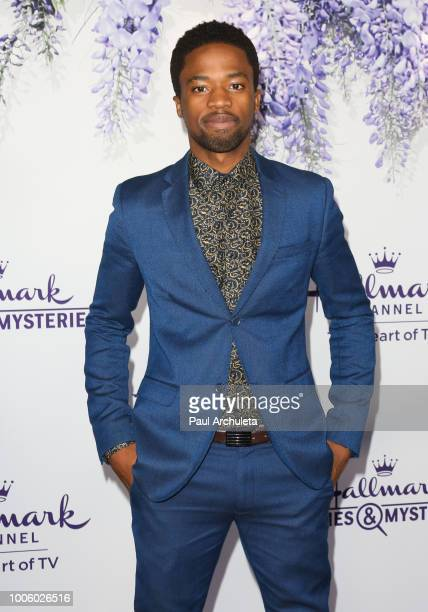 Actor Dewshane Williams attends the 2018 Hallmark Channel Summer TCA at Private Residence on July 26 2018 in Beverly Hills California
