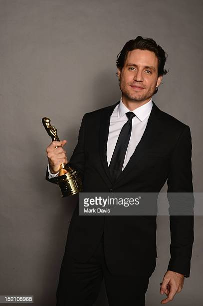 Actor Édgar Ramírez poses for a portrait during the 2012 NCLR ALMA Awards at Pasadena Civic Auditorium on September 16 2012 in Pasadena California