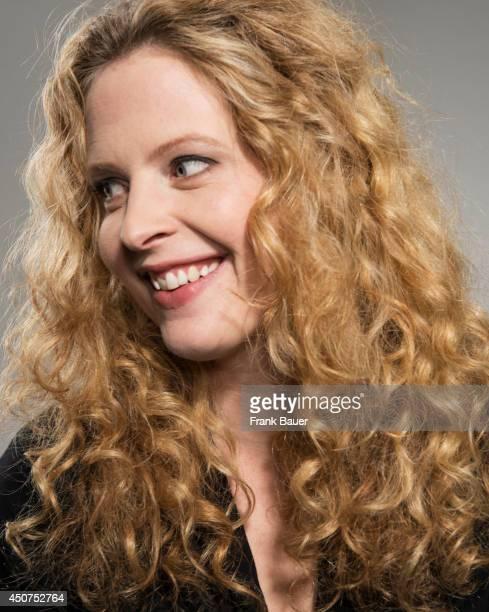 Actor Diana Amft is photographed for Sueddeutsche Zeitung magazine in Munich Germany