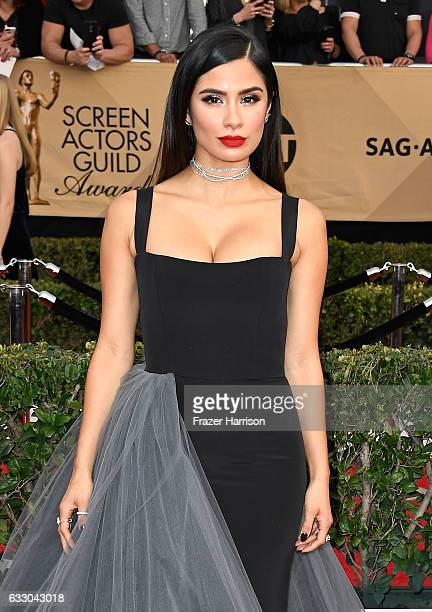 Actor Diane Guerrero attends The 23rd Annual Screen Actors Guild Awards at The Shrine Auditorium on January 29 2017 in Los Angeles California...