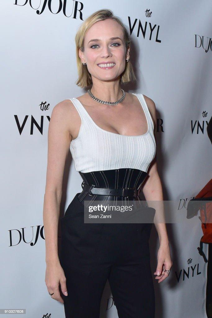 DuJour's Jason Binn Celebrates Winter Cover Star Diane Kruger