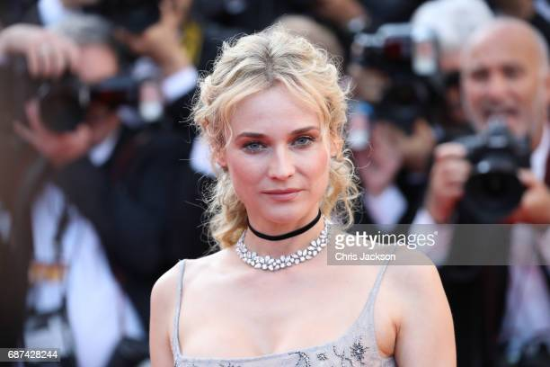 Actor Diane Kruger attends the 70th Anniversary of the 70th annual Cannes Film Festival at Palais des Festivals on May 23, 2017 in Cannes, France.