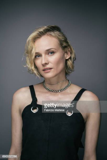 Actor Diane Kruger is photographed for the Hollywood Reporter on May 25 2017 in Cannes France