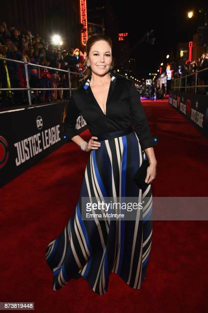 Actor Diane Lane attends the premiere of Warner Bros Pictures' Justice League at Dolby Theatre on November 13 2017 in Hollywood California