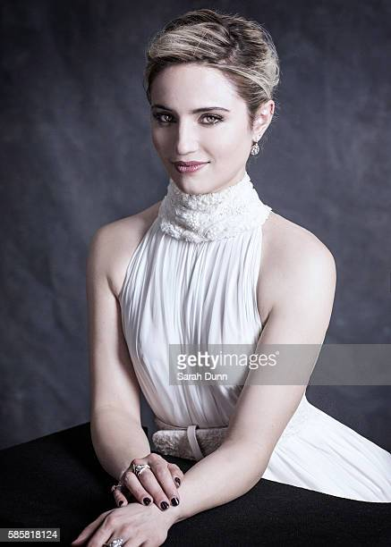 Actor Dianna Agron is photographed on April 12 2015 in London England