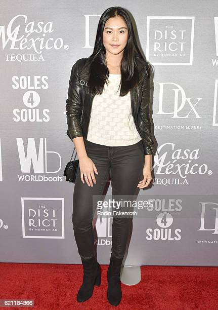 Actor Dianne Doan attends WORLDboots official Launch Party supporting Souls 4 Soles Charity at The District by Hannah An on November 4 2016 in Los...