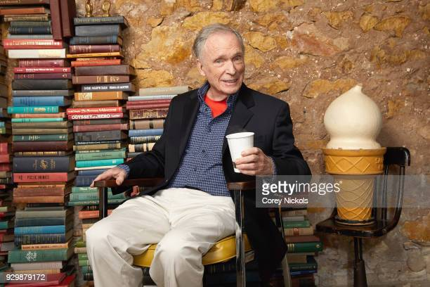 Actor Dick Cavett from the film 'Ali Cavett The Tale of the Tapes' poses for a portrait in the Getty Images Portrait Studio Powered by Pizza Hut at...