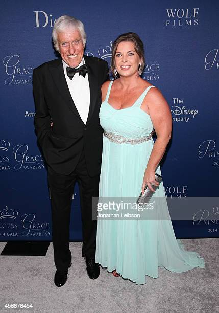Actor Dick Van Dyke and Arlene Silver attend the 2014 Princess Grace Awards Gala with presenting sponsor Christian Dior Couture at the Beverly...