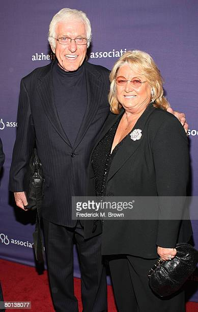 Actor Dick Van Dyke and his wife attend the Alzheimer's Association's 16th Annual A Night At Sardi's at the Beverly Hills Hotel on March 5 2008 in...