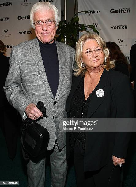 Actor Dick Van Dyke and Michelle Triola arrive at the Geffen Playhouse's annual Backstage at the Geffen Gala on March 17 2008 in Los Angeles...
