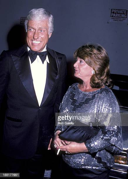 Actor Dick Van Dyke and Michelle Triola attend 15th Annual Los Angeles Drama Critics Circle Awards on April 2 1984 at the Variety Arts Center in Los...