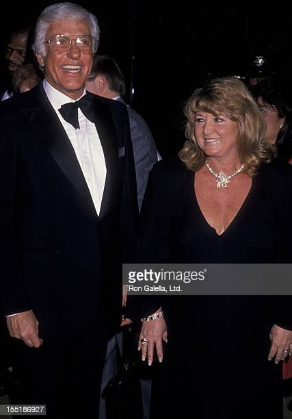 Actor Dick Van Dyke and Michelle Triola attend Seventh Annual American Cinema Awards on January 27 1990 at the Beverly Hilton Hotel in Beverly Hills...