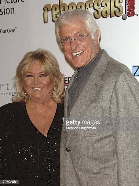 Actor Dick Van Dyke and Michelle Triola attend the 2nd annual A Fine Romance benefiting the Motion Picture Television Fund at the Sunset Gower...