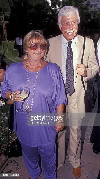 Actor Dick Van Dyke and Michelle Triola attend the nominees luncheon for 43rd Annual Primetime Emmy Awards on August 20 1991 at the Westwood Marquis...