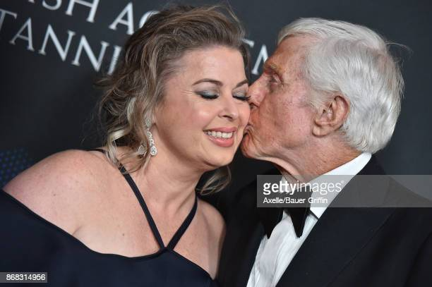 Actor Dick Van Dyke and wife Arlene Silver arrive at the 2017 AMD British Academy Britannia Awards at The Beverly Hilton Hotel on October 27 2017 in...