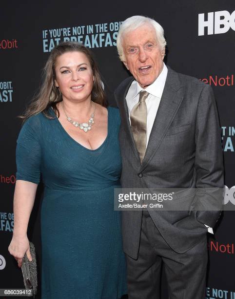 Actor Dick Van Dyke and wife Arlene Silver arrive at the premiere of HBO's 'If You're Not In The Obit Eat Breakfast' at Samuel Goldwyn Theater on May...