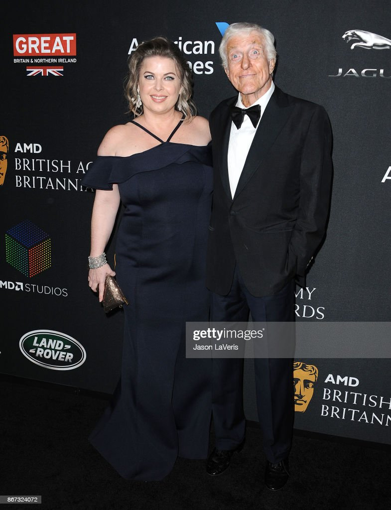 Actor Dick Van Dyke and wife Arlene Silver attend the 2017 AMD British Academy Britannia Awards at The Beverly Hilton Hotel on October 27, 2017 in Beverly Hills, California.