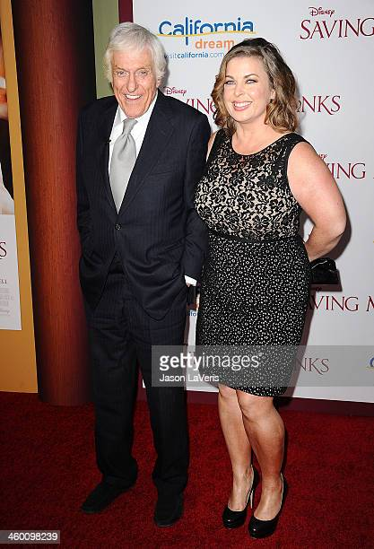 Actor Dick Van Dyke and wife Arlene Silver attend the premiere of 'Saving Mr Banks' at Walt Disney Studios on December 9 2013 in Burbank California