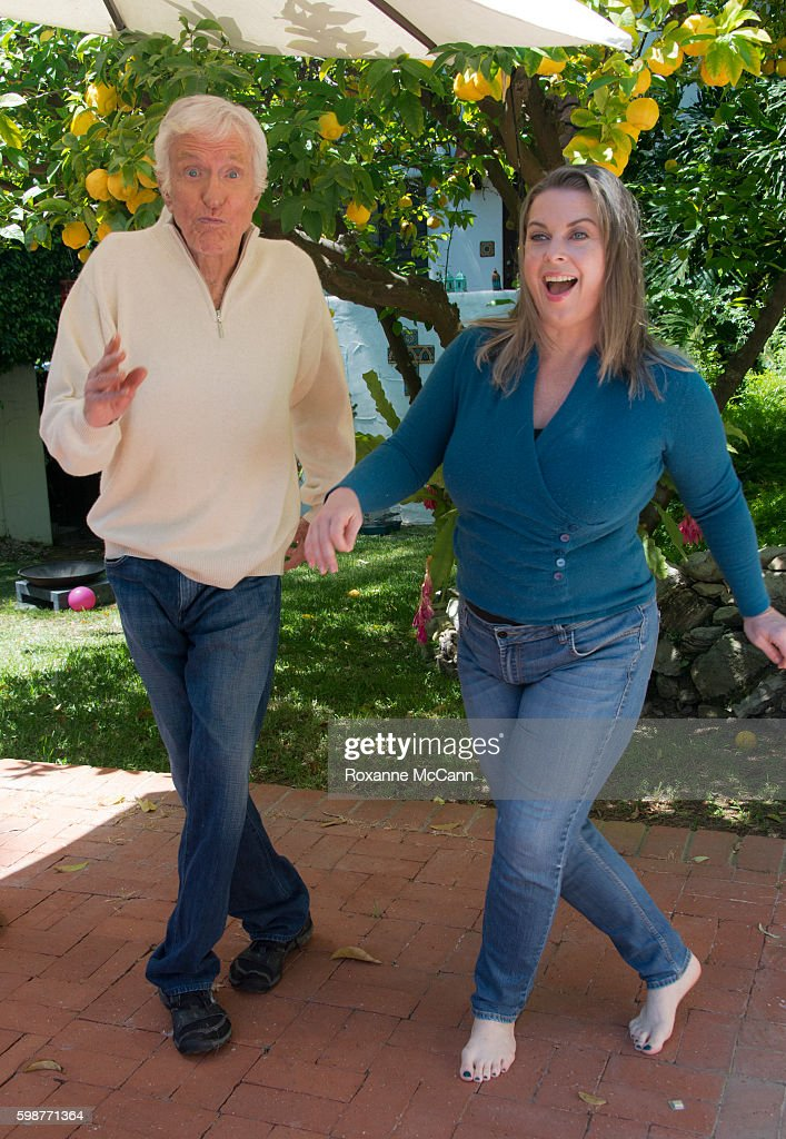 Actor Dick Van Dyke and wife, Arlene Silver photographed at home during a photo shoot on April 21, 2016 in Malibu, California.