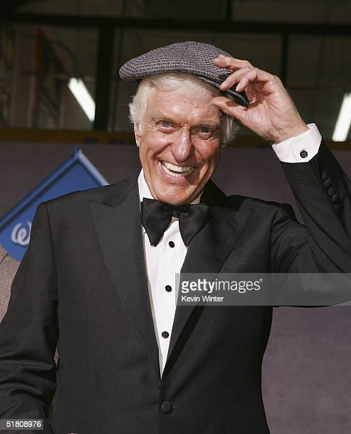Actor Dick Van Dyke arrives at Disney's 'Mary Poppins' 40th Anniversary Edition DVD release party at El Capitan Theater on Novenber 30 2004 in Los...