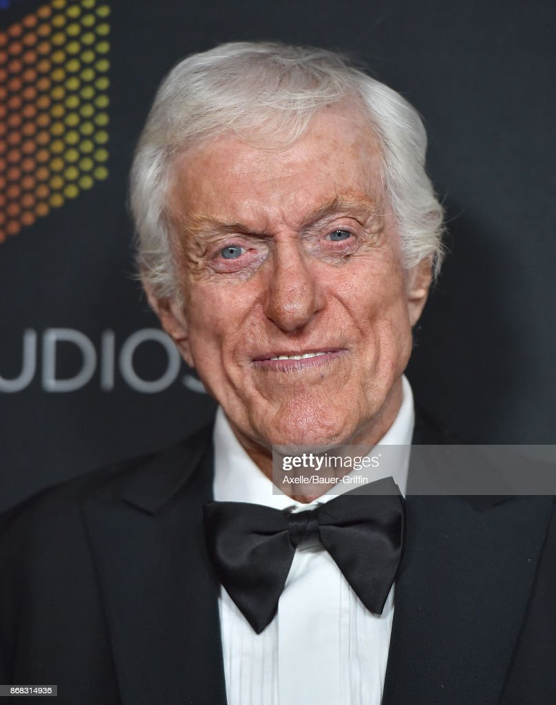 Actor Dick Van Dyke arrives at the 2017 AMD British Academy Britannia Awards at The Beverly Hilton Hotel on October 27, 2017 in Beverly Hills, California.