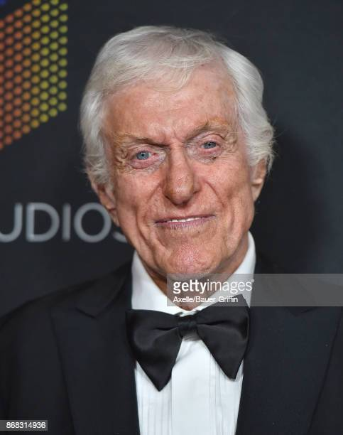 Actor Dick Van Dyke arrives at the 2017 AMD British Academy Britannia Awards at The Beverly Hilton Hotel on October 27, 2017 in Beverly Hills,...
