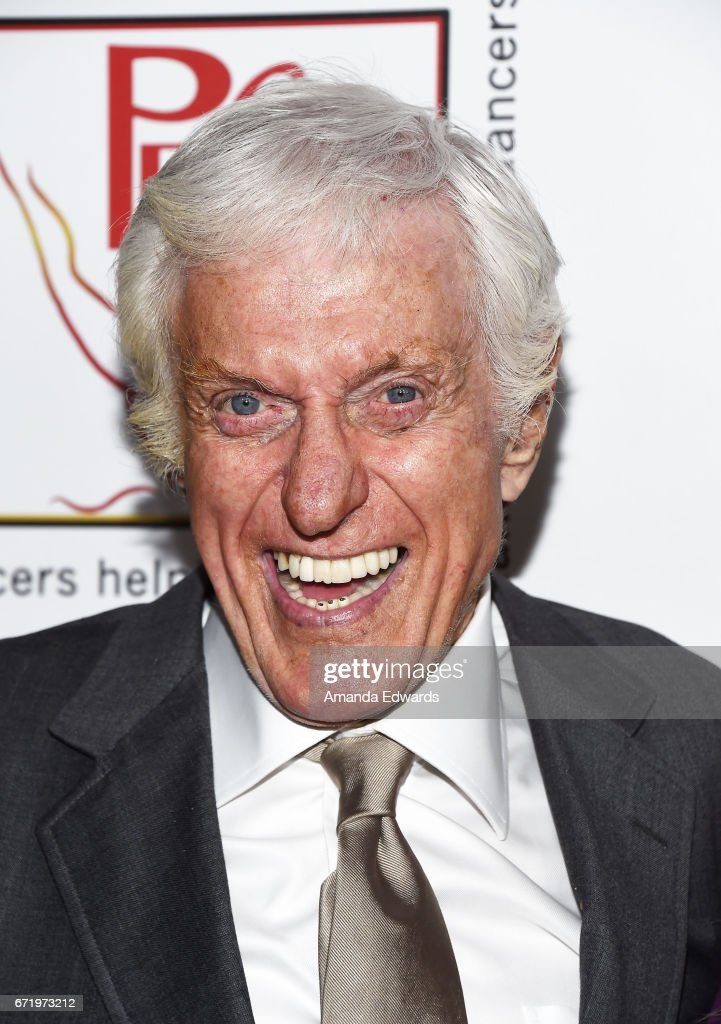 Actor Dick Van Dyke arrives at the 30th Annual Gypsy Awards Luncheon at The Beverly Hilton Hotel on April 23, 2017 in Beverly Hills, California.
