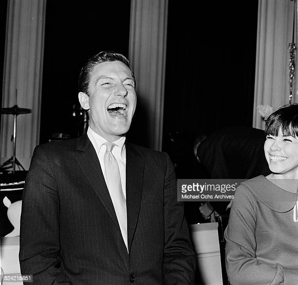 Actor Dick Van Dyke attends a party in Los AngelesCA