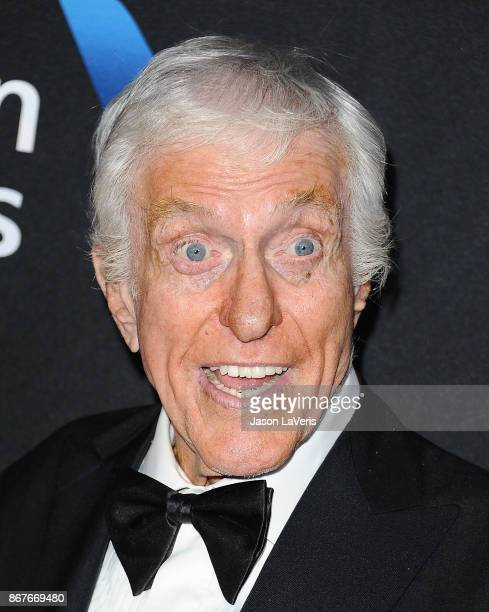 Actor Dick Van Dyke attends the 2017 AMD British Academy Britannia Awards at The Beverly Hilton Hotel on October 27, 2017 in Beverly Hills,...