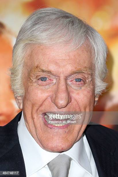 Actor Dick Van Dyke attends the Premiere of Disney's 'Saving Mr Banks' at Walt Disney Studios on December 9 2013 in Burbank California