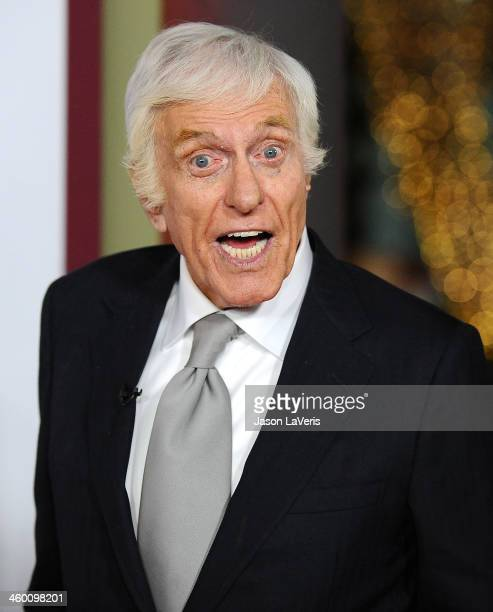 Actor Dick Van Dyke attends the premiere of 'Saving Mr Banks' at Walt Disney Studios on December 9 2013 in Burbank California