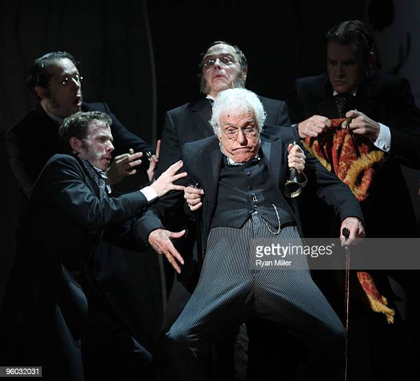 Actor Dick Van Dyke makes a guest appearance in the national tour of the Disney and Cameron Mackintosh production of Mary Poppins at the Center...
