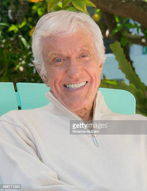 Actor Dick Van Dyke photographed at home during a photo shoot on April 21 2016 in Malibu California