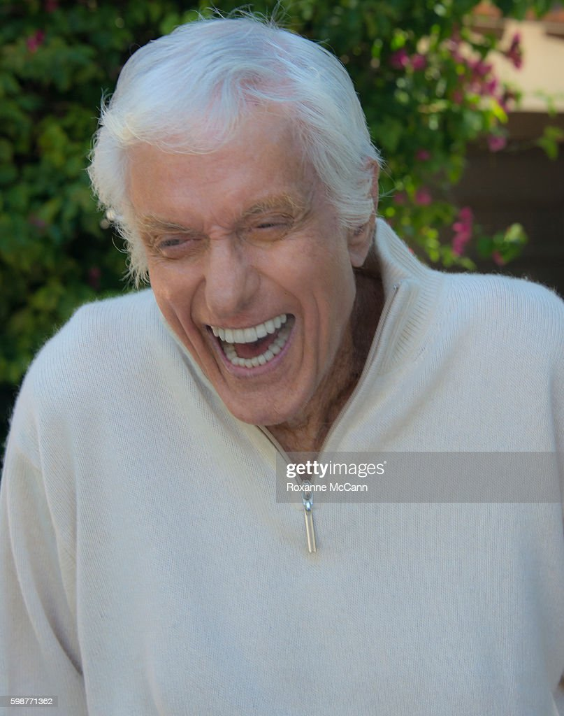 Actor Dick Van Dyke photographed at home during a photo shoot on April 21, 2016 in Malibu, California.